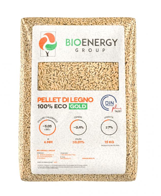 Gold sichetti combustibili for Ardeco pellet